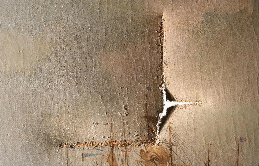 Riss im Vorzustand. ©Julia Tholen